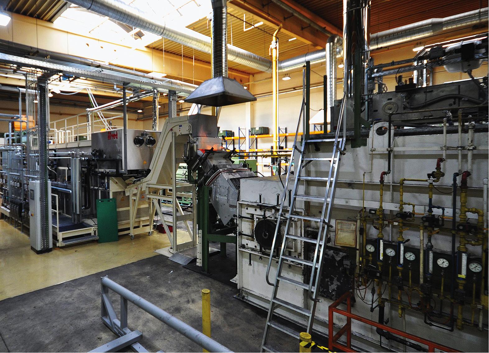 Abgaswärmetauscher im industriellen Einsatz