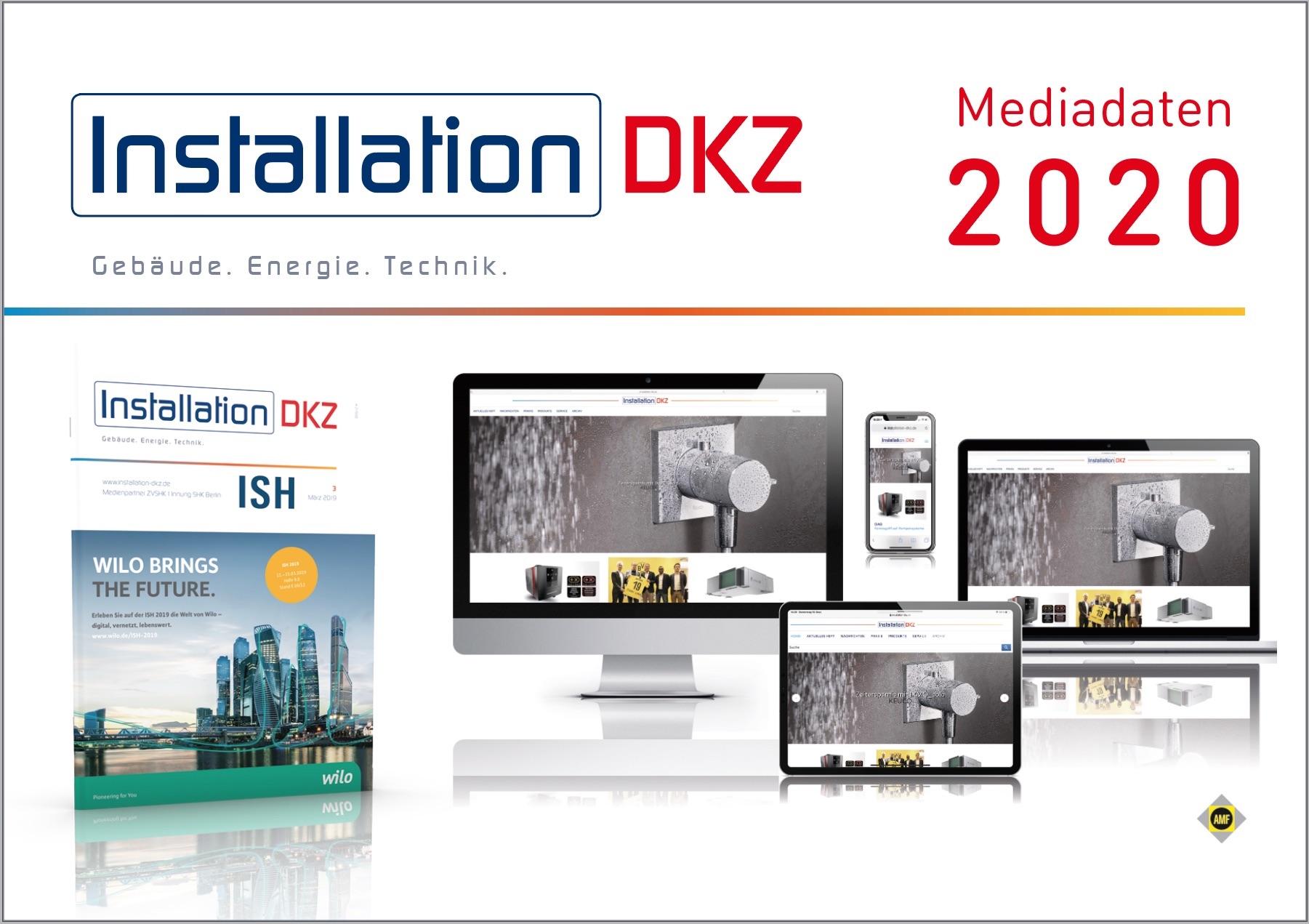 Mediadaten Installation DKZ 2020