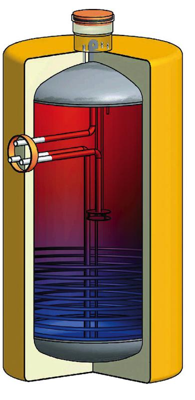 Wärmetanks und Speicher für moderne Heizungsanlagen von Dehoust