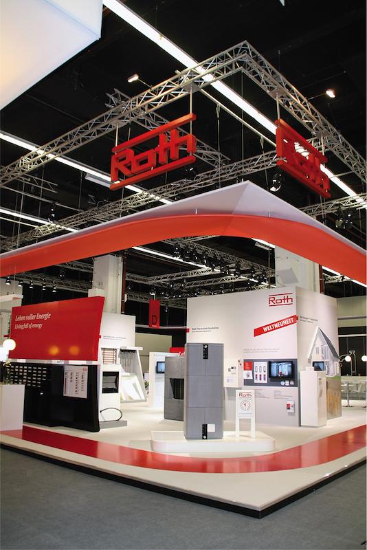 Roth Rohr-Installationssystemen, Flächen-Heiz- und Kühlsystemen, Wärmespeicher, Solaranlagen und Wärmepumpen