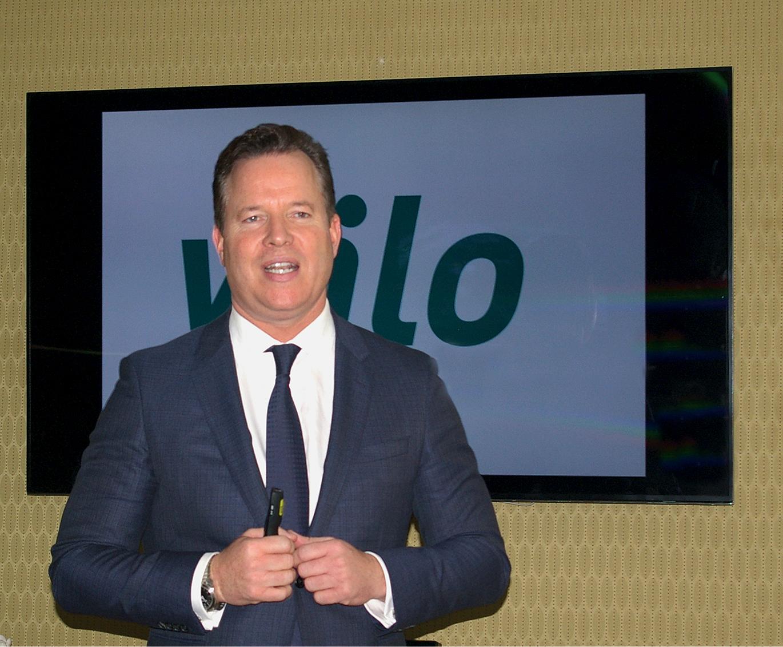 Stolz auf ein Rekordergebnis von 1,3 Mrd. Euro Umsatz: Wilo-Vorstandsvorsitzender Oliver Hermes