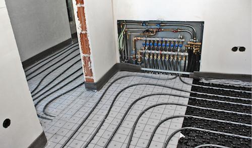 EnEV-konforme Einzelraumregelung bei Fußbodenheizungen