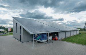 100-kWp-Photovoltaikanlage