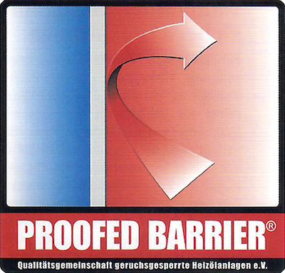"Qualitätslabel ""Proofed Barrier"""