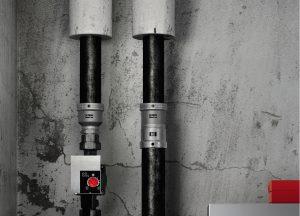 ViegaMegapress für Stahlrohre 44,5 und 57,0mm