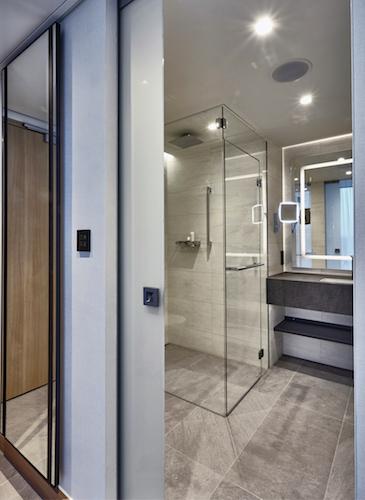 Die Zimmer im Hilton Hotel am Münchener Flughafen