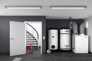 Innenaufgestelle Luft-Wasser-Wärmepumpe