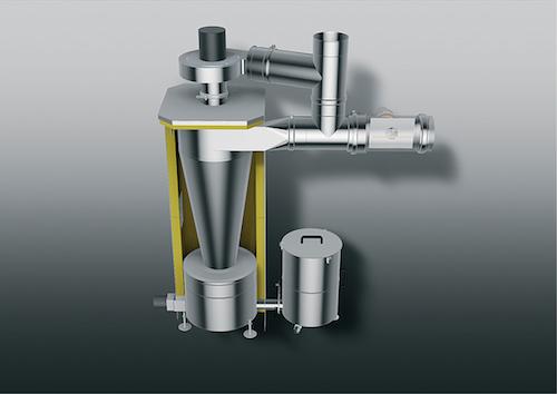 Kutzner + WeberPartikelabscheider für Anlagen über 50 kW