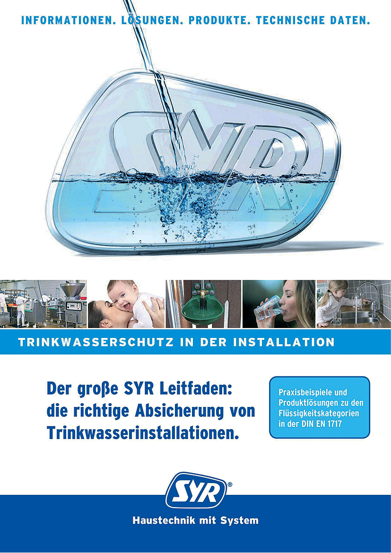 SYR: Leitfäden für Heizung und Trinkwasser