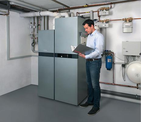 Brennstoffzellen liefern Wärme und Strom