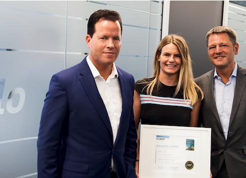 v.l. Oliver Hermes (Wilo-Vorstandsvorsitzender), Bernadette Wagner (Investor Relations & Corporate Governance) und Kay Hoffmann (Corporate Relations & Networks)