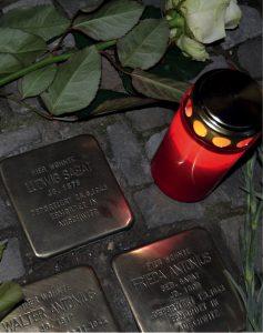 Gedenken an jüdische Mitglieder