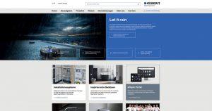 Neue Geberit Website
