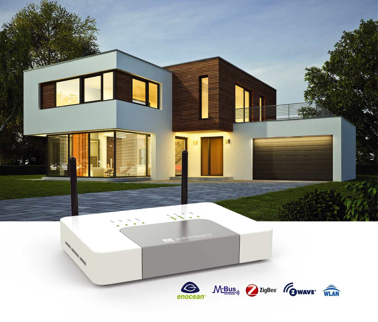Gateway HG 01, die Basis des AFRISO Smart Home Systems