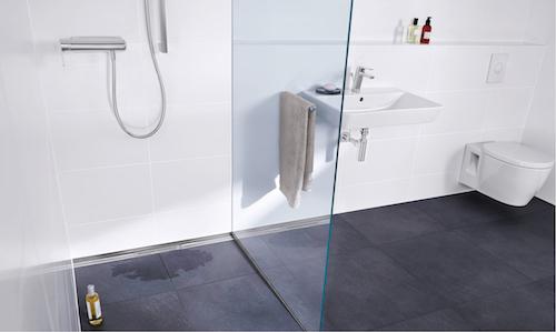 Ausführungssicherheit für bodengleiche Duschen mit AIV durch DIN 18534
