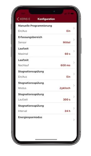 Schell_SSC Konfiguration App Smartphone