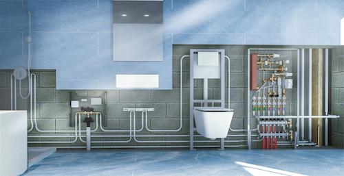 Dezentrale Wohnungsstationen erwärmen das Trinkwasser bedarfsgerecht vor Ort.