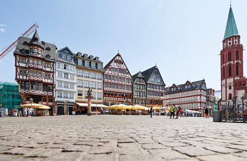 Frankfurt a.M. gehört zu den Metropolen in Deutschland