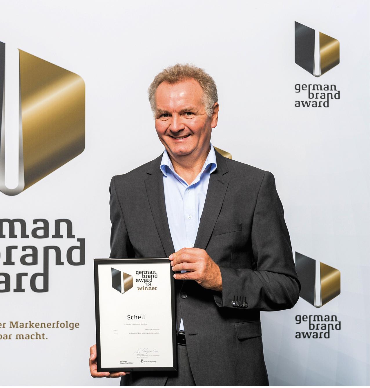 Schell erhält den German Brand Award 2018