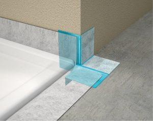 MEPA Aquaproof Anwendung 3D T-Ecke