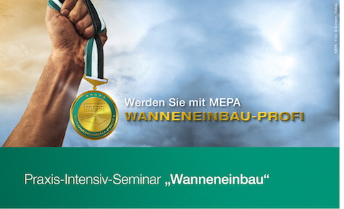 "MEPA: Praxis-Intensiv-Seminare ""Wanneneinbau"""