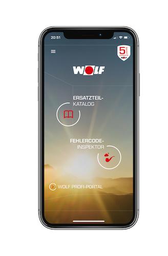 Wolf: Neue Version der Service App verfügbar