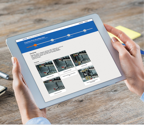 Comfort Port-Konfigurator bietet Uponor ab sofort ein Online-Werkzeug