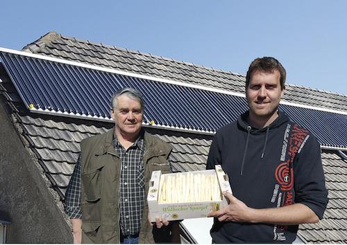Inline-Entsalzung von Füllwasser einer thermischen Solaranlage