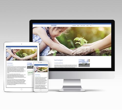 ZEWOTHERM mit neuer Webseite