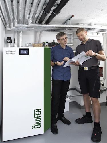 OekoFEN Pellematic Condens 32 kW