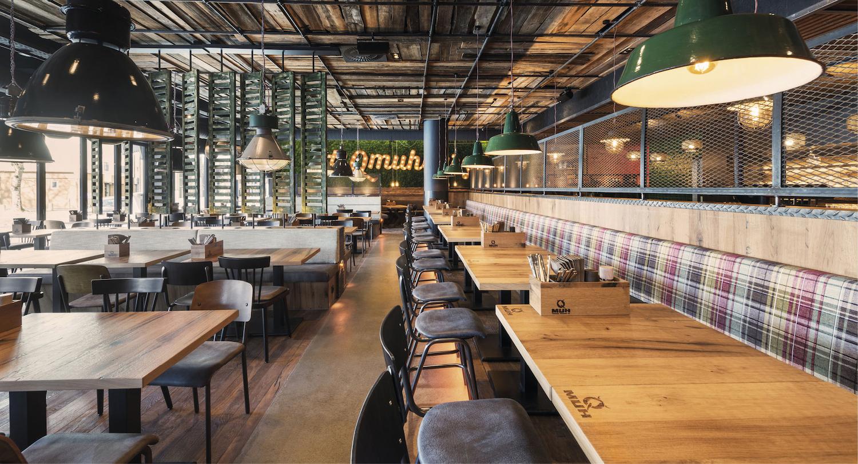 Geberit - Burger- und Steakrestaurant überrascht mit pfiffigen Ausstattungsdetails