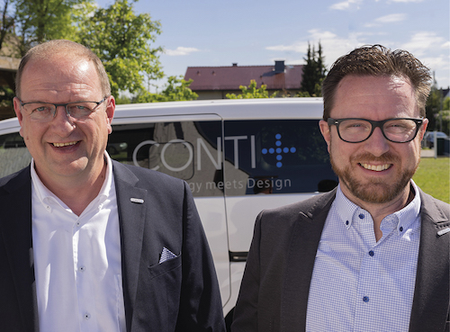 CONTI strukturiert Vertrieb neu - v.l. Derk Cornelius und Martin Liese-Flügel
