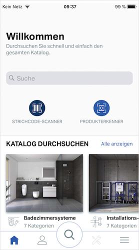 Geberit Pro App