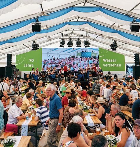 70-jähriges Jubiläum bei Grünbeck