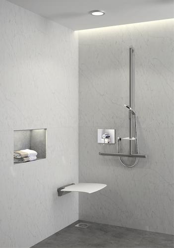 DELABIE - die Haltegriffe und Dusch- Klappsitze Be-Line®