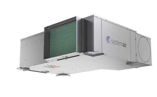 Systemair - Ventilatorkonvektor mit Wasser/Luft-Wärmepumpe