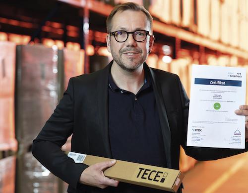 Holger Kleine-Tebbe, Leiter Produktdaten und Sortimente bei TECE. Bildquelle: Matthias Ibeler.