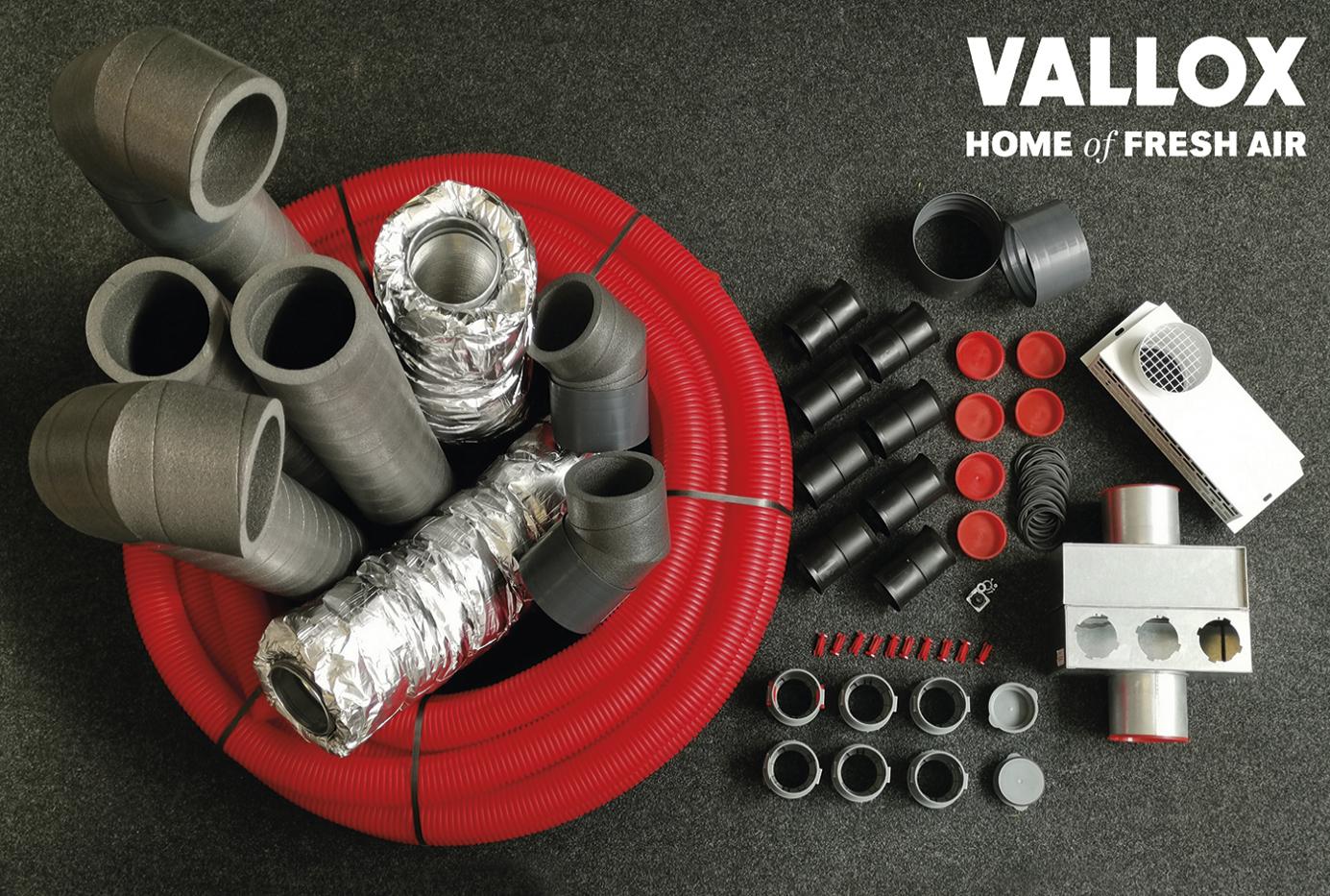 Vallox - Rundum-Sorglos-Paket für den Geschosswohnungsbau