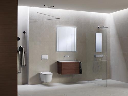 Geberit - Funktionales Design für mehr Platz und Flexibilität am Waschplatz
