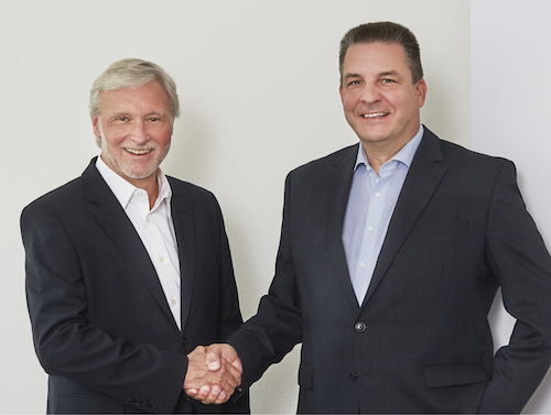 v.l. Andreas Feix und Reinhard Schwenk