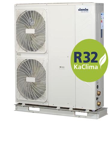 Kampmann - Kaltwassererzeuger jetzt mit Kältemittel R32