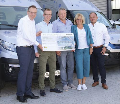 Panasonic PRO Award für Mardo-Kältetechnik GmbH