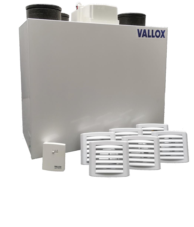 VALLOX - Installationskits für hochwertige Lüftungsgeräte
