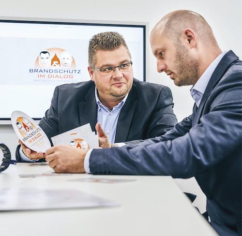 v.l.Carsten Janiec und Marc Kitter