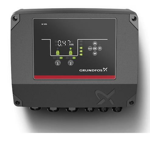 Grundfos - Niveausteuerung für den sicheren Betrieb