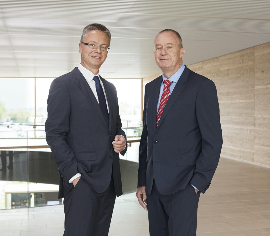 Dr. Nicholas Matten und Dr. Kai Schiefelbein