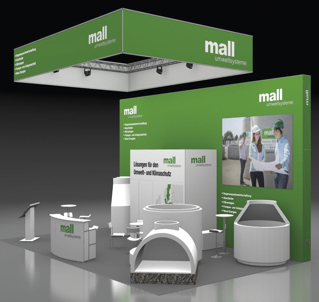 Mall - Regenwasser günstig versickern, Pellets sicher lagern