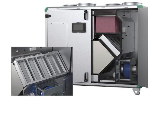 Systemair GmbH - Sektionale Enteisung für Lüftungsgeräte