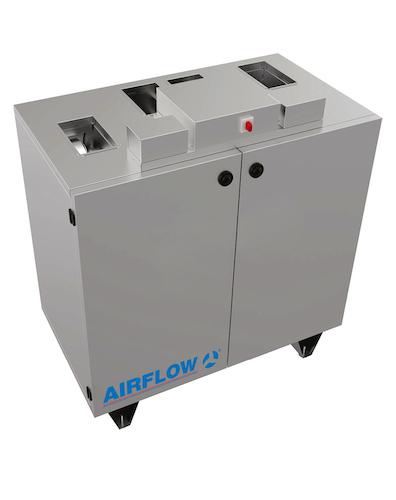 Airflow - Neue Lüftungsgeräte-Serie DUPLEX Compact-V