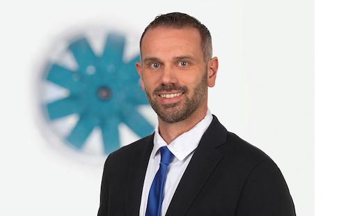 Neuer Systemair Außendienstmitarbeiter - Torben Haase